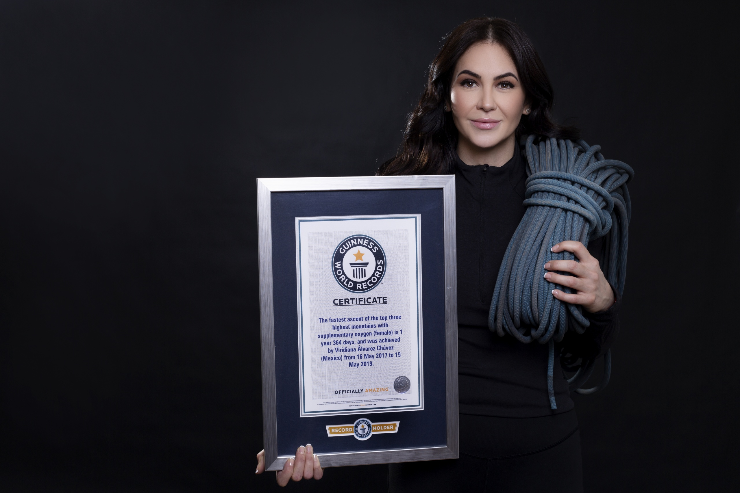 Guinness World Records (article in English)